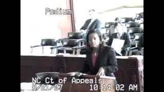 Oral Argument before the NC Court of Appeals
