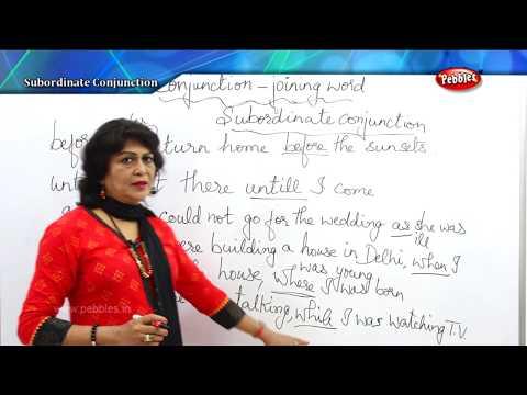 Spoken English Through Tamil | Spoken English Class | Subordinate conjunction | Learn English