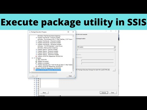 Execute Package Utility
