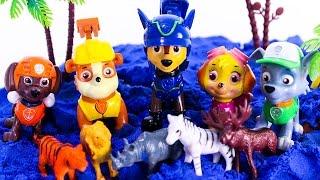 ЩЕНЯЧИЙ ПАТРУЛЬ Новые серии Развивающие мультики про животных для детей КТО КАК ГОВОРИТ Игрушки
