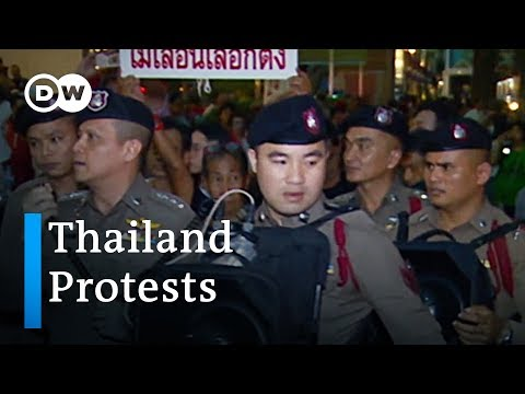Thailand protesters urge military junta to let elections go forward | DW News