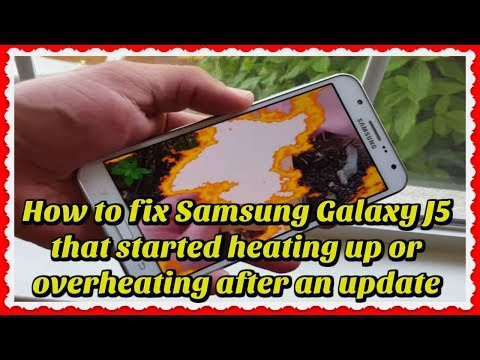 SAMSUNG J5 Charging Problem Over Heating 100% Solution by waqas