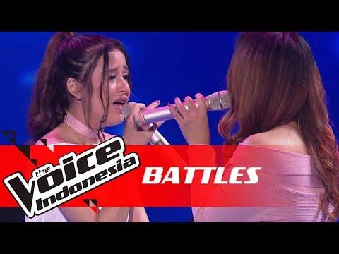 Virzha Vs Bella - Shallow (Lady Gaga, Bradley Cooper) | Battles | The Voice Indonesia GTV 2018
