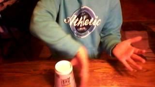 Видео урок ●как играть на стакане●
