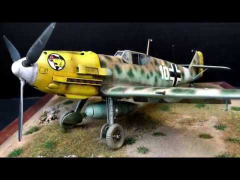 Painting the Cyber-Hobby BF109 E7 Trop: Final
