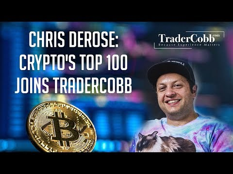 Chris DeRose: Crypto's Top 100 joins Trader Cobb
