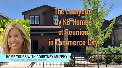 New Homes in Commerce City Colorado - Lafayette Model by KB Homes at Reunion