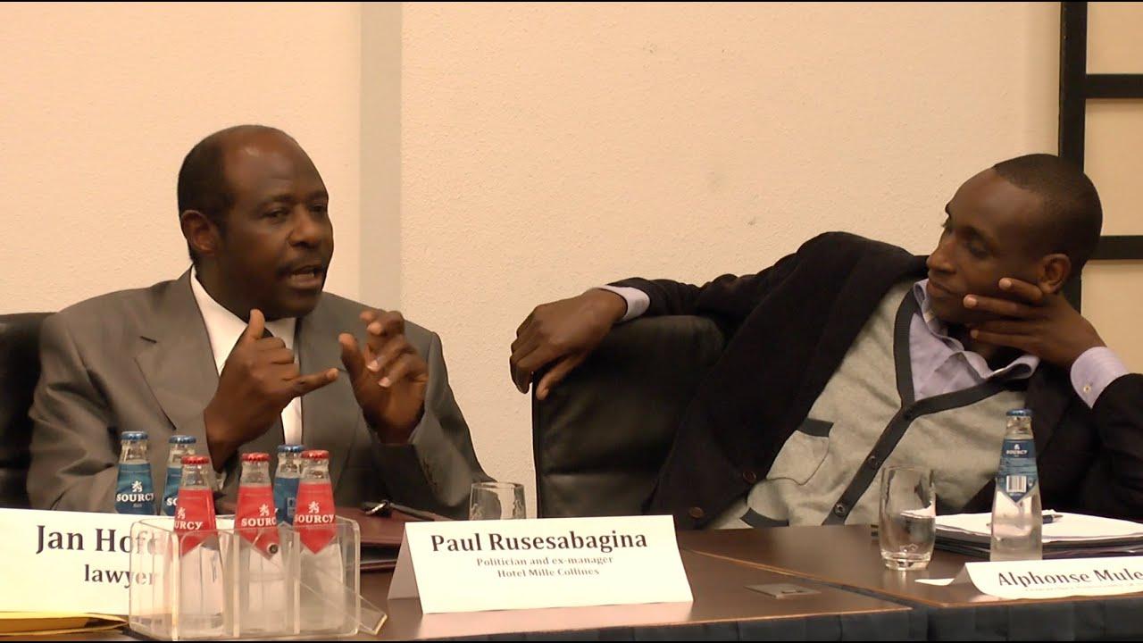 Rwanda Conference Part 8 Paul Rusesabagina Debate