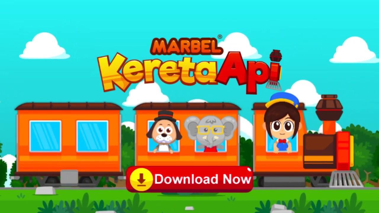 Marbel Kereta Api Game Aman Untuk Anak  Gratis Di Android