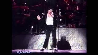 Michael Jackson - Billie Jean - Live in Bucharest 1996 [HD]