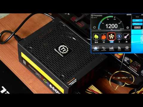 Thermaltake ToughPower DPS G RGB 850W  DPS G APP:  and Led Management test