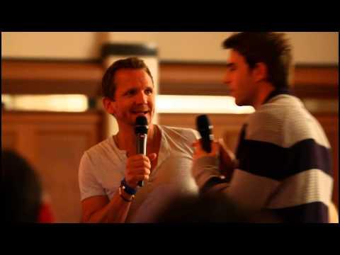 Sebastian Roché with Smebastian (& Nate crashing) #InsurgenceGermany