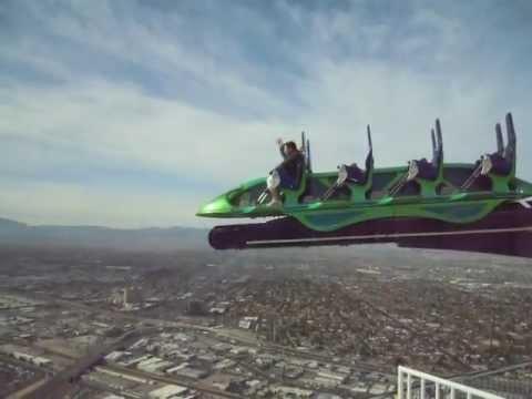 Stratosphere X-Scream Ride - YouTube
