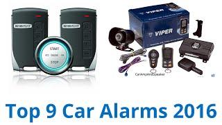 9 Best Car Alarms 2016