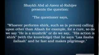 The Excuse of Ignorance and Barriers to Takfir | Shaykh al-Fawzân