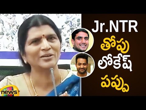 Lakshmi Parvathi Sensational Comments on Jr NTR   Lakshmi Parvathi