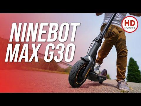 Segway NINEBOT MAX G30: semplicemente il miglior MONOPATTINO elettrico