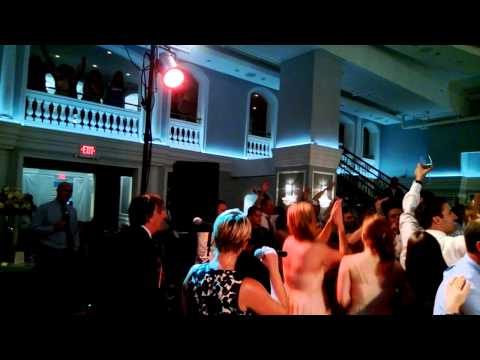 Arts Ballroom Wedding  featuring Back2Life