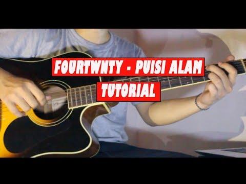 Tutorial Gitar Fourtwnty - Puisi Alam