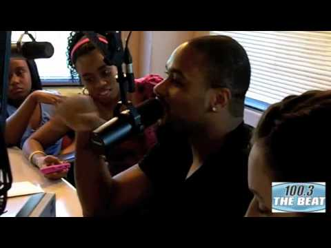 Raheem Brock On 100.3 The Beat With Kendra G