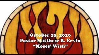 """Moses' Wish"""