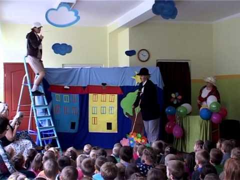 Przedstawienie Z Okazji Dnia Dziecka 2013 Przedszkole Dynów Tadek Niejadek