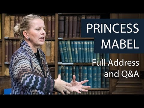 Princess Mabel | Full Address and Q&A | Oxford Union