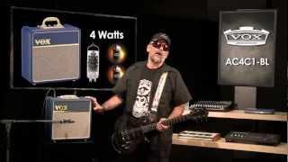 Judge Fredd  & the Vox AC4-C1 BL