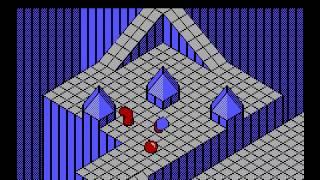 Marble Madness (Tandy/MSDOS) (Atari/Electronic Arts 1984/1986)