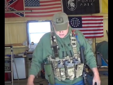 AR Chest Rig Go Gear Recon Day Pack Patrol Load LBE LBV Or Other Names