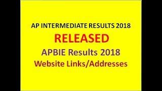 APBIE RESULTS 2018   AP INTER 2ND YEAR RESULTS 2018   BIEAP RESULTS 2018   AP INTER RESULTS 2018  