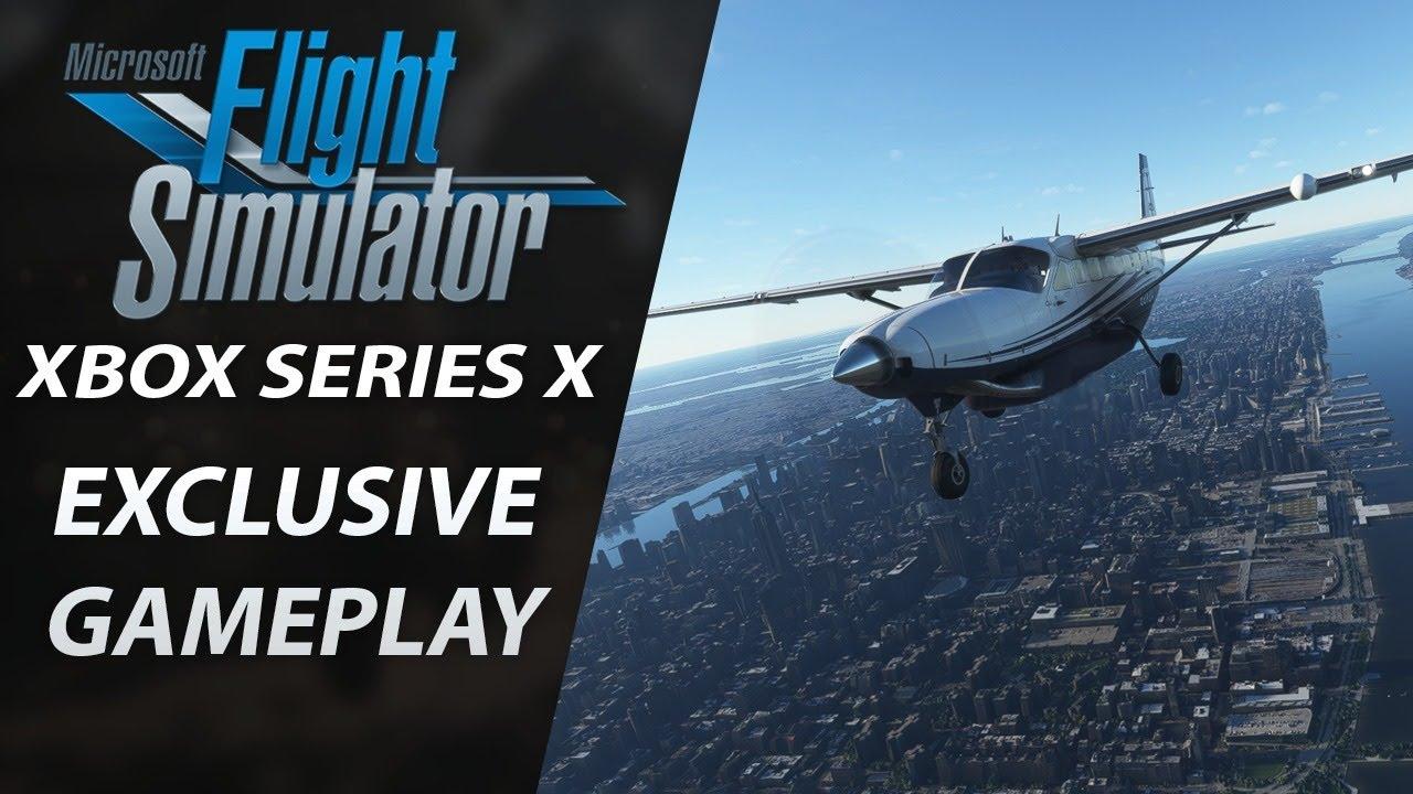 Exclusive XBOX Series X Gameplay   Microsoft Flight Simulator