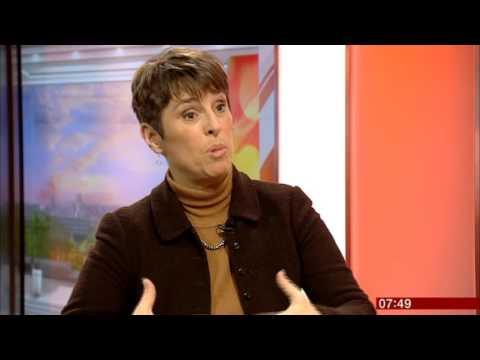 Kate Faulkner on BBC Breakfast 27th January 2016