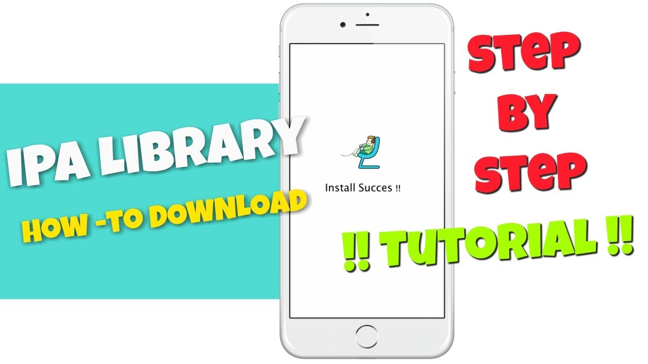 Download IPA Library App Tutorial