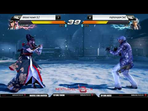 Grand Final: Blood Hawk (Kazumi) vs FightingGM (Lee) - NLBC v.74 - Tekken 7 [1080p/60fps] HD