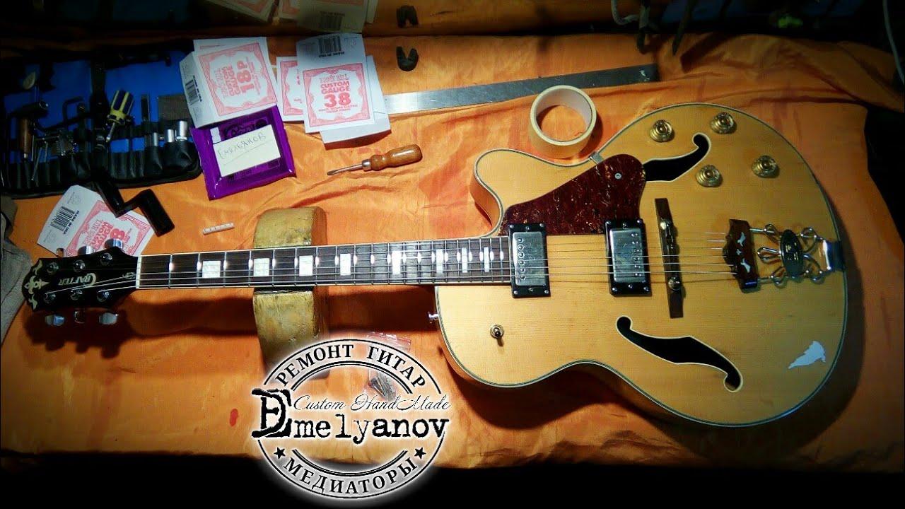 Ремонт гитары своими руками фото 468