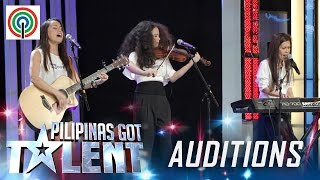 Pilipinas Got Talent Season 5 Auditions: The Raes - Mother and Daughters Band