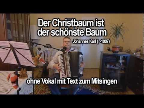 der-christbaum-ist-der-schÖnste-baum-ohne-vokal-mit-text-zum-mitsingen