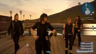 "Final Fantasy XV - The Aspiring Artisan: Speak To Dino ""Fetch Some Ore, Bada Bing"" Dialogue Sequence"