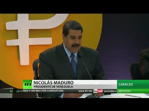 Venezuela transa 735 millones de dólares en el primer día de lanzamiento del petro
