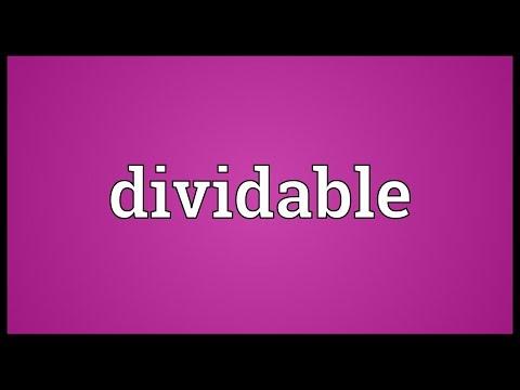 Header of dividable