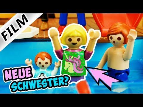 Playmobil Film Deutsch BABYSITTERIN IST DIE VERLORENE TOCHTER VON FAMILIE VOGEL! DIE NEUE SCHWESTER?