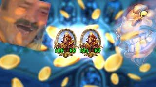 DOUBLE GOLDEN GOLDGRUBBER | Rdu Hearthstone Battlegrounds