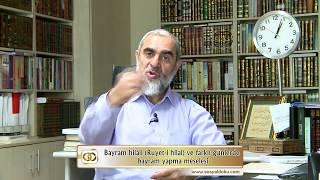 4) Bayram hilali (Ru'yet-i hilal) ve farklı günlerde bayram yapma meselesi - Nureddin Yıldız 2017 Video