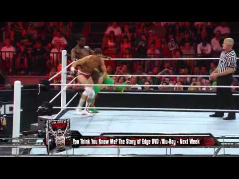 Cody rhodes vs kofi kingston big show interferes wwe raw 4 2 12