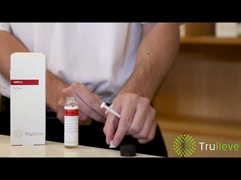 How to Use the Trulieve Cannabis Oil Syringe - YouTube