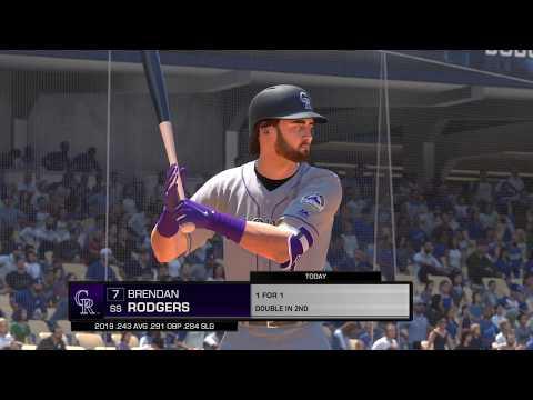 Los Angeles Angels vs Colorado Rockies | MLB® The Show™ 19 Live Gameplay