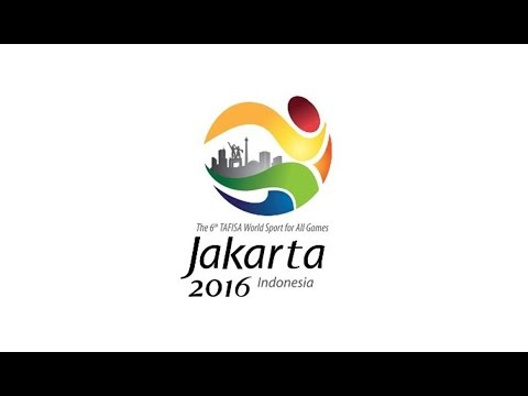 the 6th TAFISA World Sport for All Games, Jakarta - Indonesia