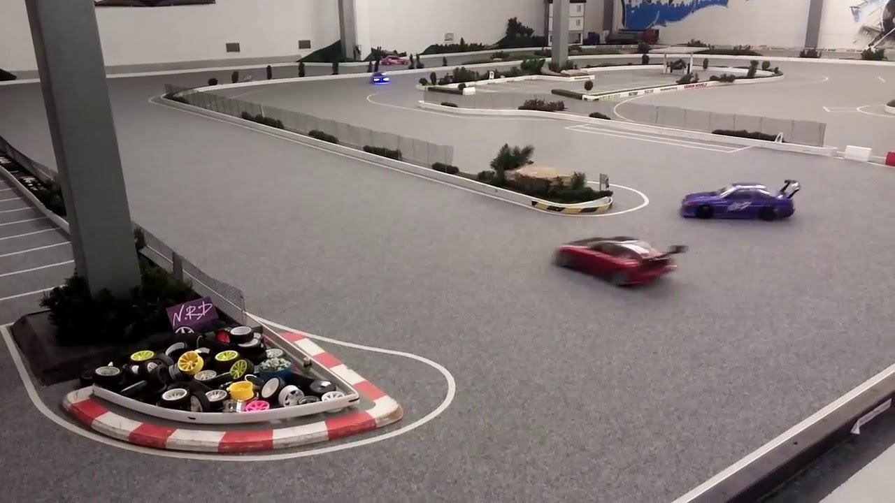 Yrp Rc Drift Sideways Action Ratrap Rc Nrd Indoor Drift Track