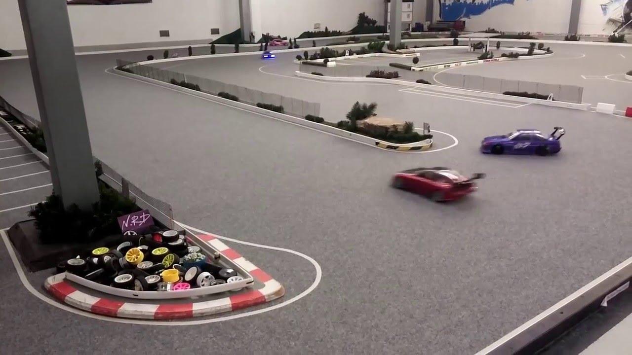 Yrp Rc Drift Sideways Action Ratrap Rc Nrd Indoor Drift Track